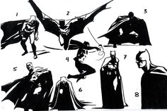 Style guide for Batman Begins by John Paul Leon