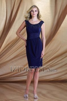 Sheath/Column Straps Mother of the Bride Dress - IZIDRESSES.com