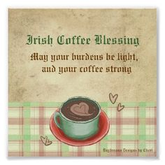 Irish Coffee Blessing