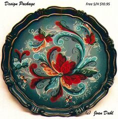 rosemaling patterns free | Pattern Packet by Joan Dahl. The following is what you will receive in ...