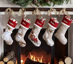 Woodland Stocking Collection #pbkids.  on sale from 29.50 -> $20.50 (personalization is extra 8.50)