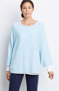 Pure Jill kimono-sleeve sweater