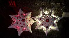 Svietiace hviezdy od claudi1. Papierové pletenie, paplet, vianoce:) Artmama.sk