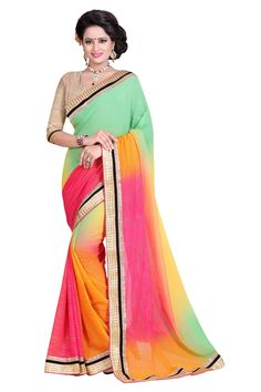 Printed Fashion Poly Georgette Saree  (Green)- online shopping - Contact us / Worldwide shipping >Free shipping >Cash on Delivery >Premium Quality Saree   Contact us / whats app us : +91 9725728989   Resellers can contact   #silk #saree #sari #woven #fashion #style #deal #special #women #man #wholesale Georgette Sarees, Designer Wear, Fashion Prints, Online Shopping, Cool Outfits, Sari, Delivery, Free Shipping, Printed