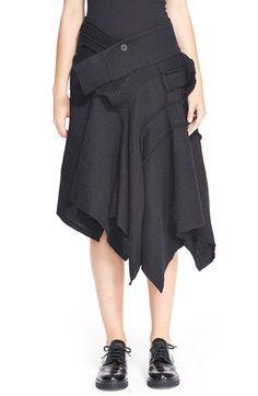 Y's by Yohji Yamamoto Patchwork Skirt