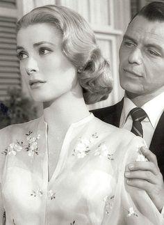 Grace Kelly and Frank Sinatra