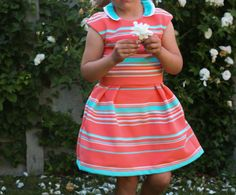 Made by Petrol and Mint: Tinny dress - sewing pattern for girls - StraightGrain patterns ...
