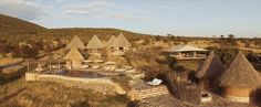 The Amani beautiful  African Spa Village at Mara Bushtops Camp has been voted best safari spa in Africa