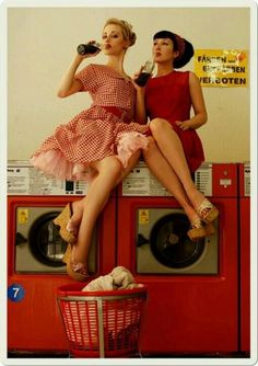 Laundromat... <3 this.                                                                                                                                                     More