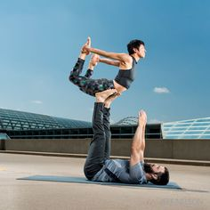 Yoga fun: AcroYoga: 6 poses to put you in touch with the physical and introspective sides of acrobatic asana.