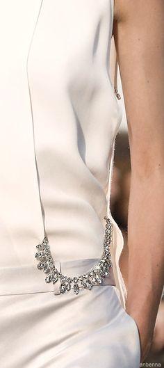 Rosamaria G Frangini   High Fashion Details   AllThingsWHITE   Thakoon Spring 2014 V