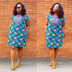Check out these latest african fashion trends we have lined up for you today. They look classic and absolutely gorgeous. Short African Dresses, Short Summer Dresses, Latest African Fashion Dresses, African Print Dresses, African Print Fashion, Africa Fashion, African Clothes, African Dresses Plus Size, Style Africain