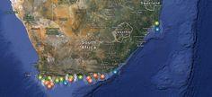 Siguiendo a los tiburones con Google Maps