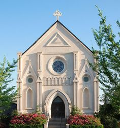 The oldest Catholic Church in Northeast Mississippi circa 1863  Church of the Annunciation