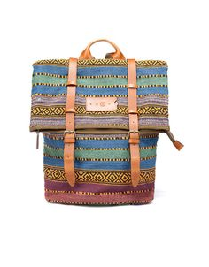 dffa90bf6e ETHNIC FABRIC BACKPACK - Bags - Man - ZARA United States Zara Bags