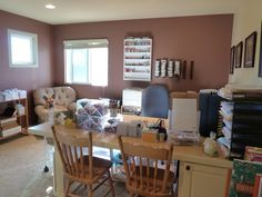 Joyce Mehrberg's craft space