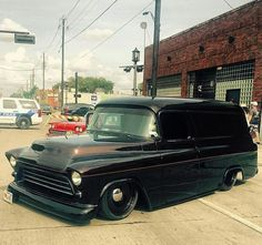 Bad-assery ensues in this murdered out van. got an awesome shot of it at the on these by mobsteel Detroit Steel Wheels, Murdered Out, Panel Truck, Car Show, Automobile, Van, Trucks, Instagram Posts, Awesome