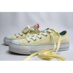Converse All Star Double Tongue Yellow Blue Red
