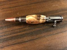 Box elder bolt action pen