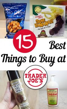 15 Best Things to Buy at Trader Joe's – My List of Lists – Crafts & DIY~ Home Decor ~ Gardening Hacks Diy, Cleaning Hacks, Cool Things To Buy, Good Things, Stuff To Buy, Saving Money, Money Savers, Trader Joe's, Life Hacks
