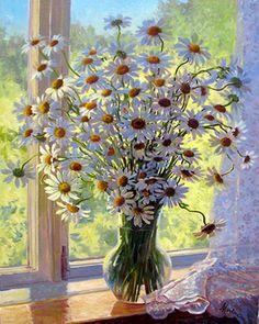 5.2 на окне летние цветы, которые еще больше подогревают чувство тепла и настоящего лета