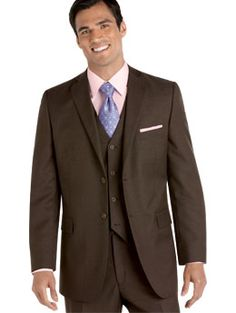 chocolate brown suits
