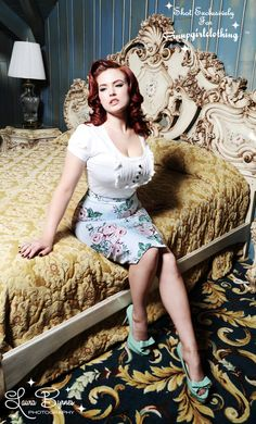 Pinup Girl Clothing -- I'm so digging those shoes!