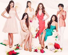 Kendall, Kylie, Kourtney, Khloe, Kim, Kris.