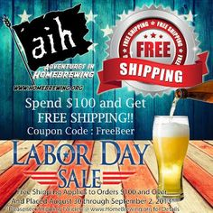 Homebrew Finds: Labor Day Weekend Sales
