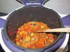 Cookéo ratatouille recipe - my best easy recipes - Herve Knightley Fun Easy Recipes, Easy Meals, Easy Ratatouille Recipes, Food Dishes, I Am Awesome, Curry, Food Porn, Healthy, Ethnic Recipes
