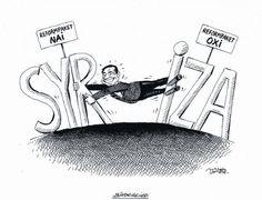 """OÖN-Karikatur vom 24. Juli 2015: """"Bindeglied"""" Mehr Karikaturen auf: http://www.nachrichten.at/nachrichten/karikatur/ (Bild: Mayerhofer)"""