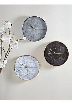 NEW Cement Clock