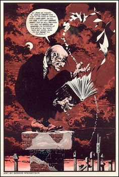 Uncle Creepy by Bernie Wrightson. It is from Creepy #63, July 1974.