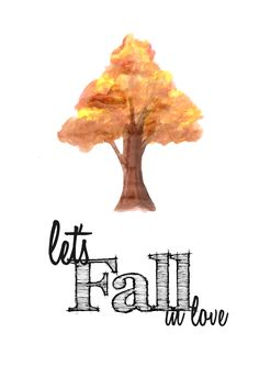 Let's fall in love. Printable for the home. Journal Themes, Bullet Journal Spread, Moleskine, Pretty Pictures, Bujo, Wolf, Let It Be, Hello Spring, Autumn Fall