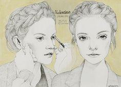 VALENTINO 2012 beauty by Madame Lolina