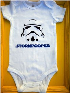 If I had a baby, it would wear so many Star Wars themed outfits! My mom would be infuriated ;)
