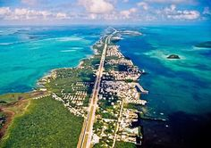 Aerial view of Key Largo (Key Largo, Florida)