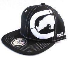 081c3882d48 MENS ECKO UNLTD RHINO BLACK HAT SNAPBACK ADJUSTABLE CAP ONE SIZE Tomboy  Fashion