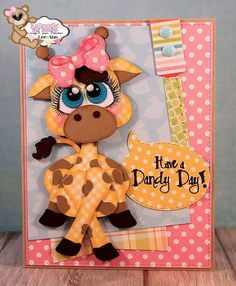 Snappy Scraps: Cutie KaToodle from KaDoodle Bug