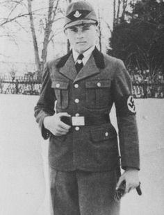 Young Michael Wittmann, Reichs Arbeitsdienst (RAD) February 1934.