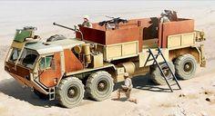 NEW U.S. Army Hemitt M985 1/35 Academy plastic model kit #Academy