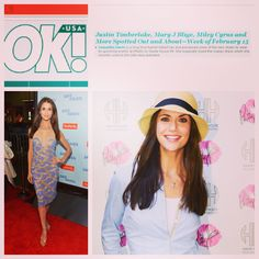 PRetty by Haute House PR featured in OK! Mary J, Justin Timberlake, Miley Cyrus, Magazine, Pretty, How To Wear, House, Dresses, Style