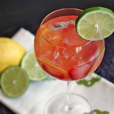 white sangria recipe1 large bottle Chardonnay (1.5 liters) 1/2 cup Bacardi 1/2 cup Triple Sec 3/4 cup simple syrup Use 1:1 ratio of sugar to water 1 – 12 oz. can concentrated frozen Minute Maid Lemonade, thawed 1 – 20 oz. can Dole Pineapple Tidbits 1 lemon, sliced thin 1 lime, sliced thin 1 orange, halved and sliced thin 6 strawberries, sliced 12 oz. club soda (reserve to use before serving