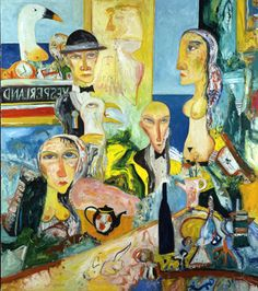 Vesperland by John Bellany