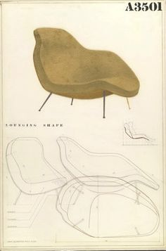 "Charles Eames & Eero Saarinen: MOMA ""Organic Design Competition"", 1940"