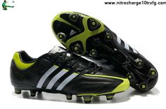 Adidas adiPure 11Pro TRX FG - Black-Running White-Slime Football Boots On Sale