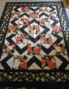 Walk About quilt pattern - I think I might try my hand at quilting