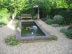 GardeningWalks: raised brick pond