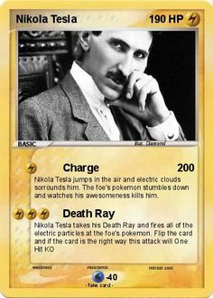 NIKOLA TESLA........SOURCE BING IMAGES..........Tesla died a broke humanitarian…
