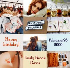 Harry Potter the Next Generation (Birthday): Emily Brook Davis • February 28, 2000 • Ravenclaw • Lily Collins